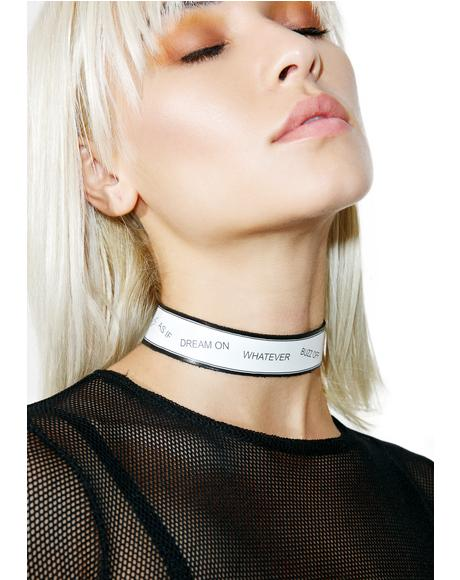 The As If Choker
