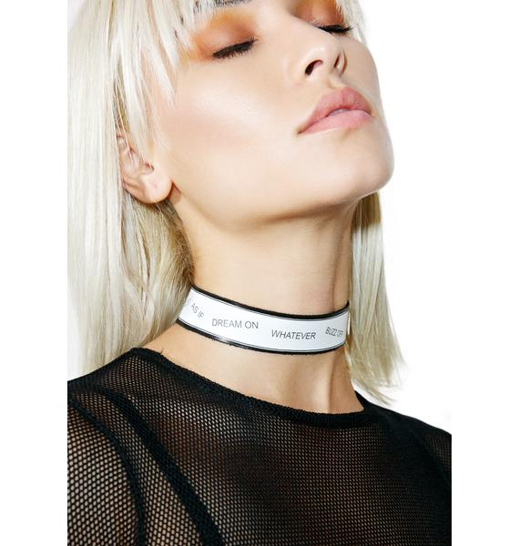 Vidakush The As If Choker