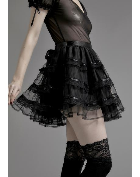 Unholy Grail Tulle Skirt