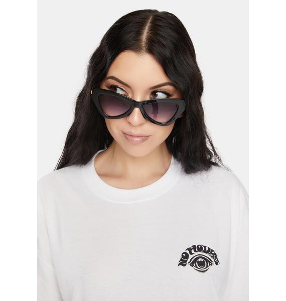 Night Vegas Baby Cat Eye Sunglasses