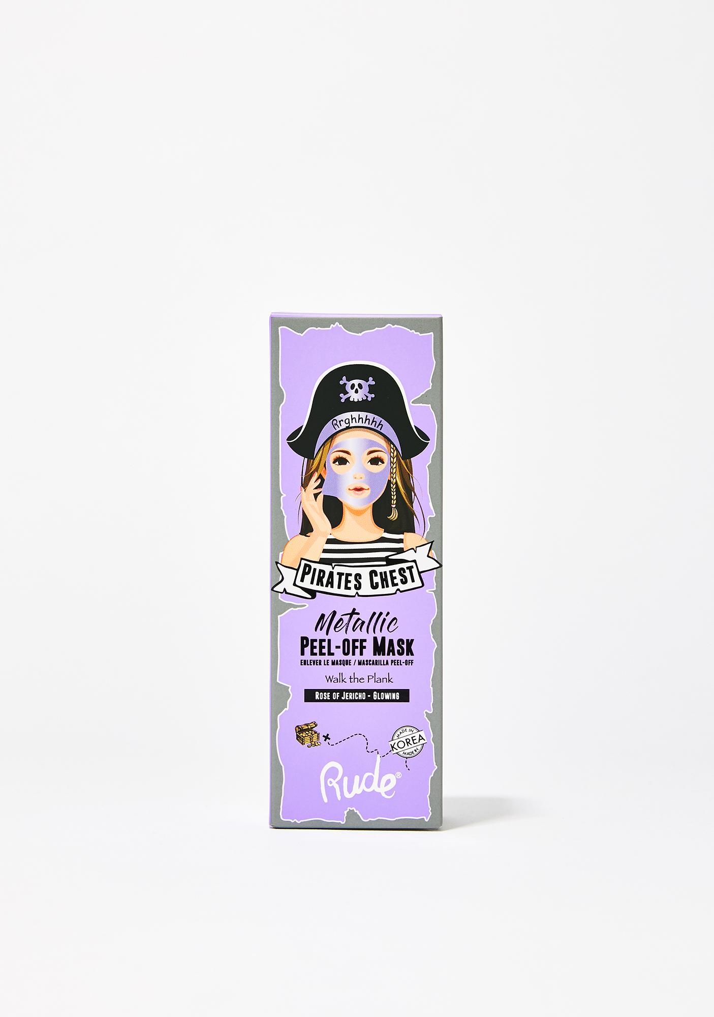 Rude Cosmetics Walk The Plank Metallic Mask