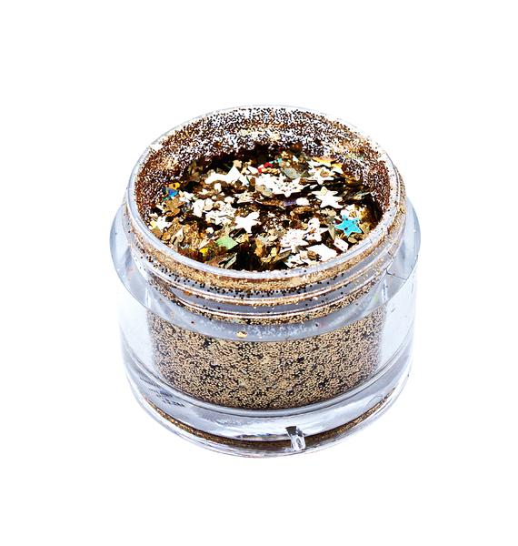 In Your Dreams Gold Lilith Chunky Glitter