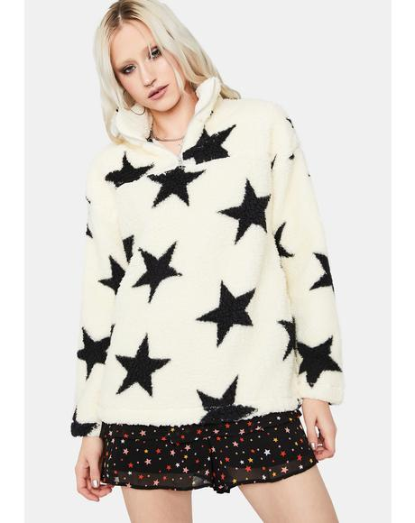 Shining Bright Teddy Pullover