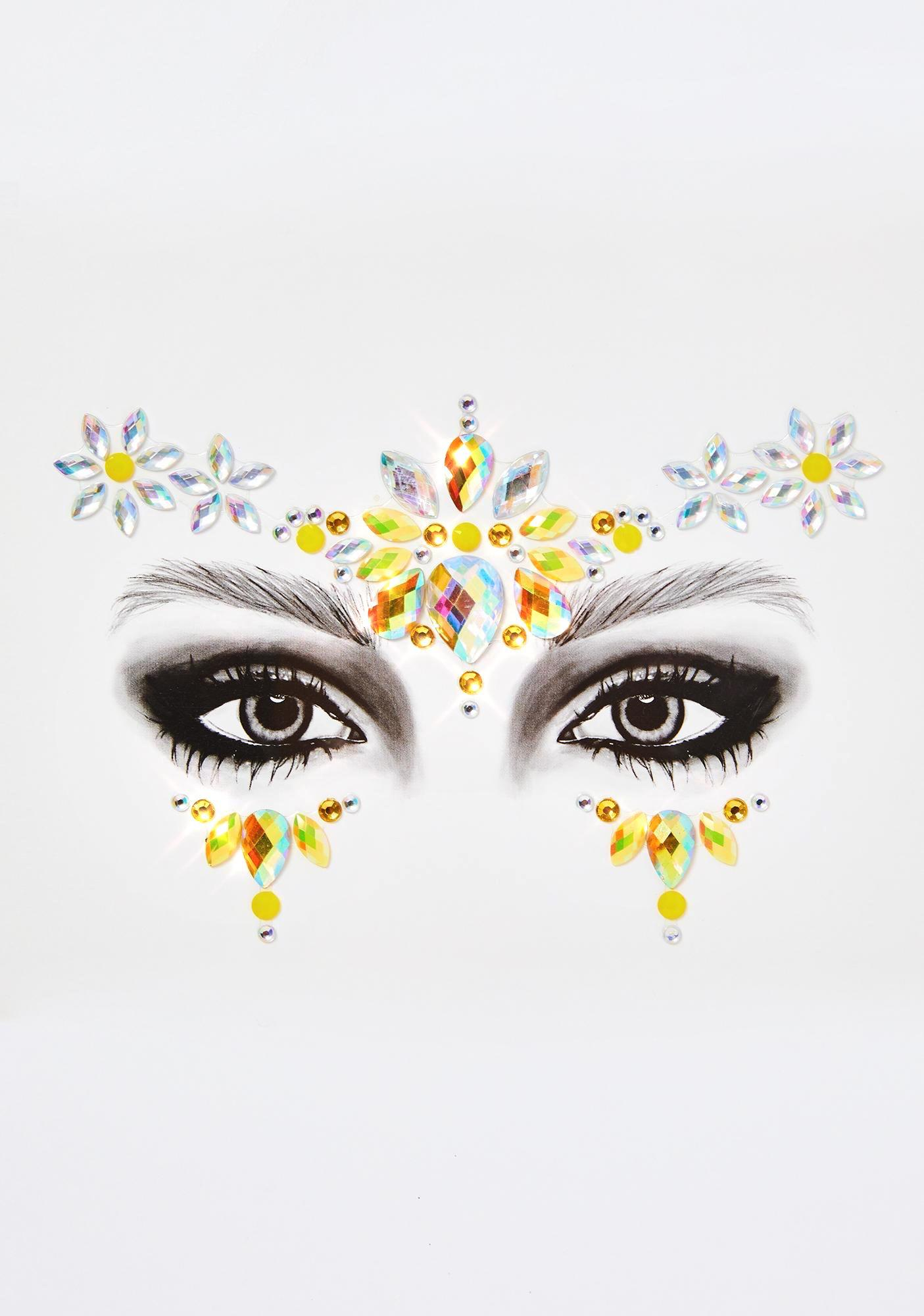 Go Get Glitter Daisy Chain Face Jewels