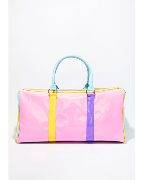 Melted Sherbert Color Block Weekender