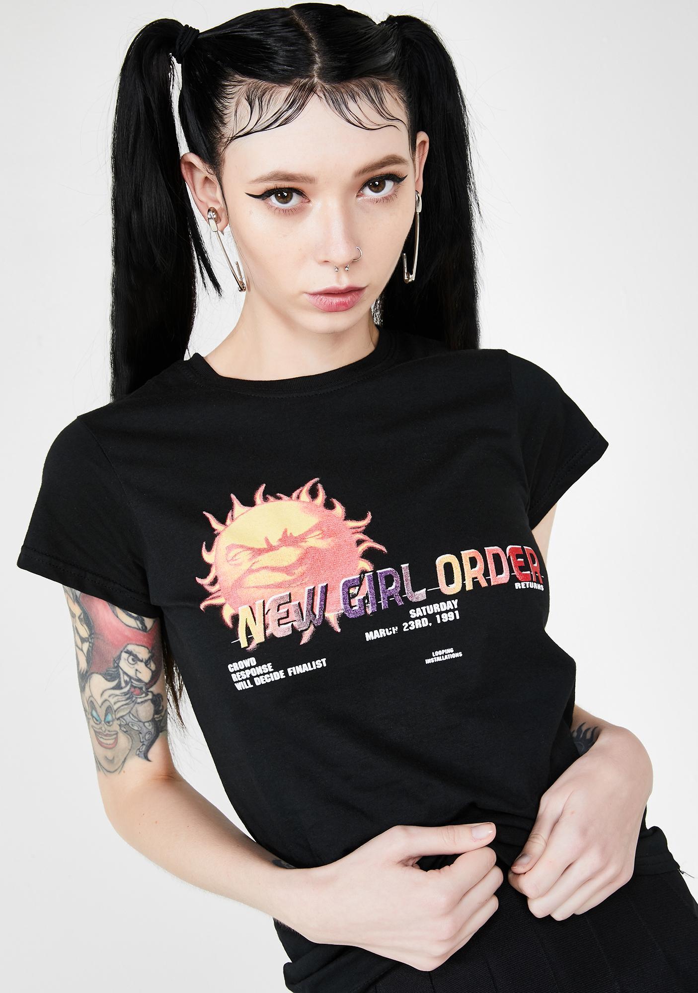 NEW GIRL ORDER Rave Tee