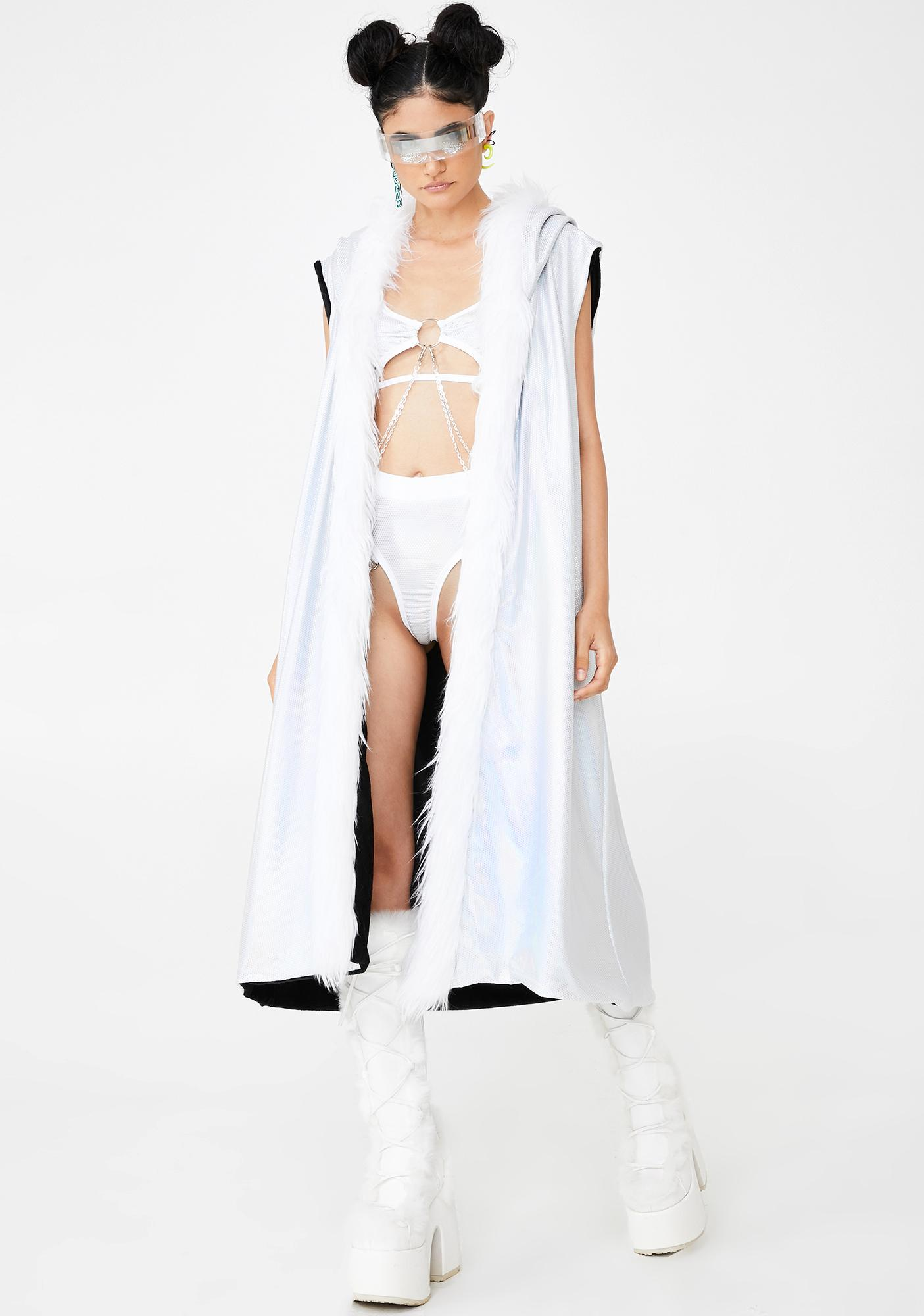 Rolita Rave Couture Reversible Cyber Duster