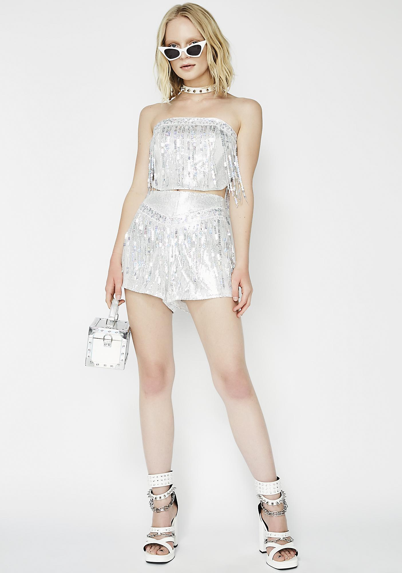 Bustin' Moves Sequin Shorts