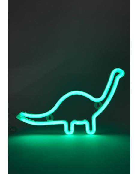 Jurassic Night Neon LED Light