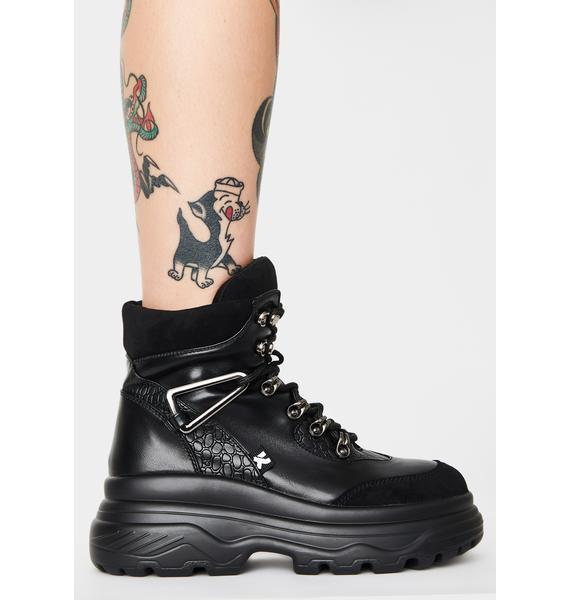 Koi Footwear Bolt Ankle Boots