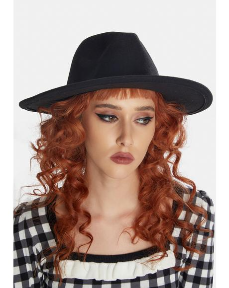 Takin' Names Felt Wide Brim Hat