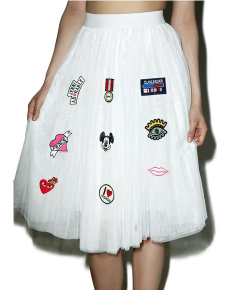 Beloved Patch Princesa Tulle Skirt