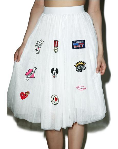 Beloved Patch Princesa Tulle Skirt