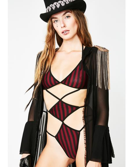 Wild Ride Cut-Out Bodysuit