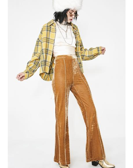 Divine Woman Velvet Pants