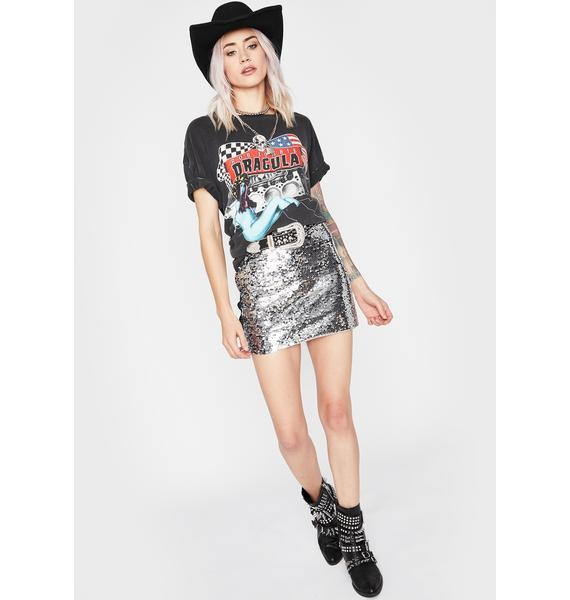 All Night Party Sequin Skirt