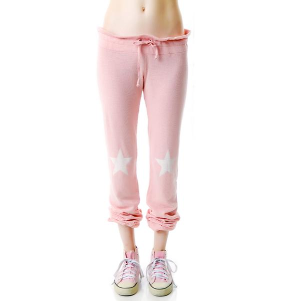 Wildfox Couture Starshine Bottom Malibu Skinny Sweats