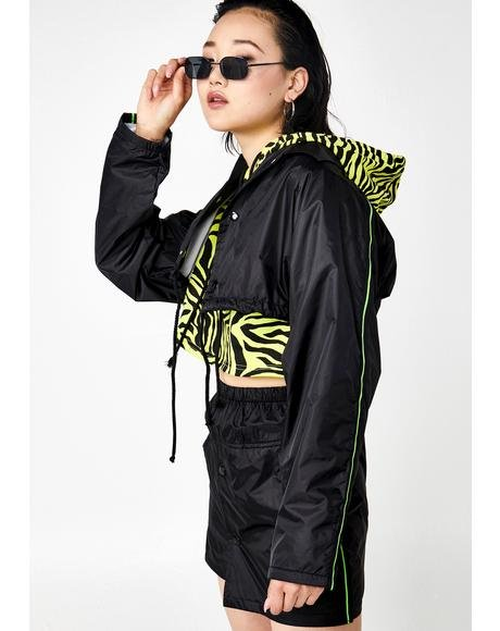 Relay Runna Cropped Windbreaker Jacket