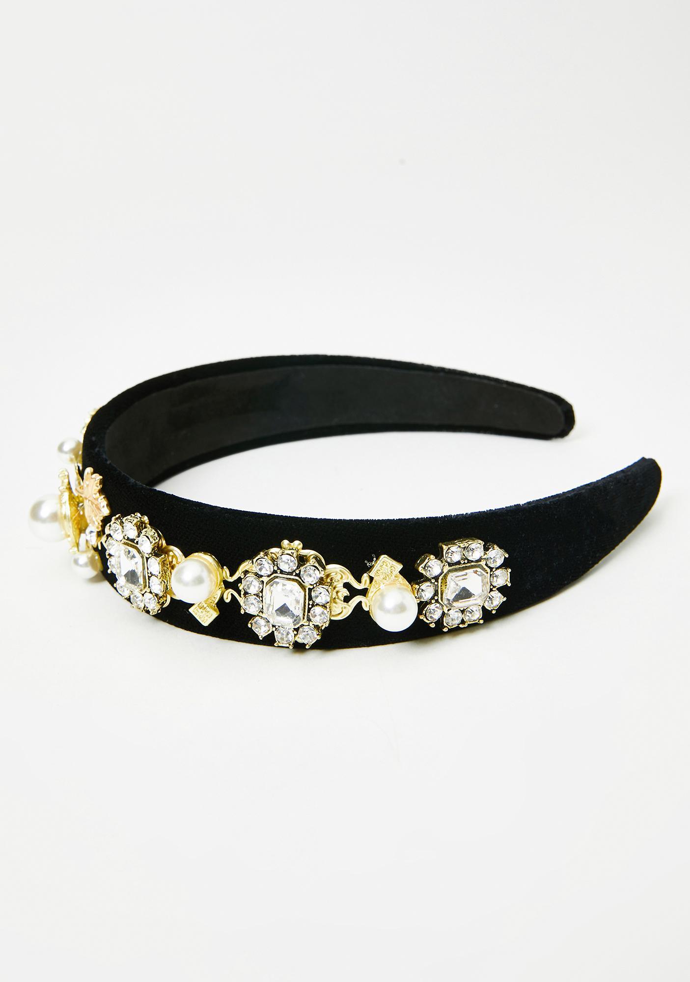 Forever Spoiled Jeweled Headband