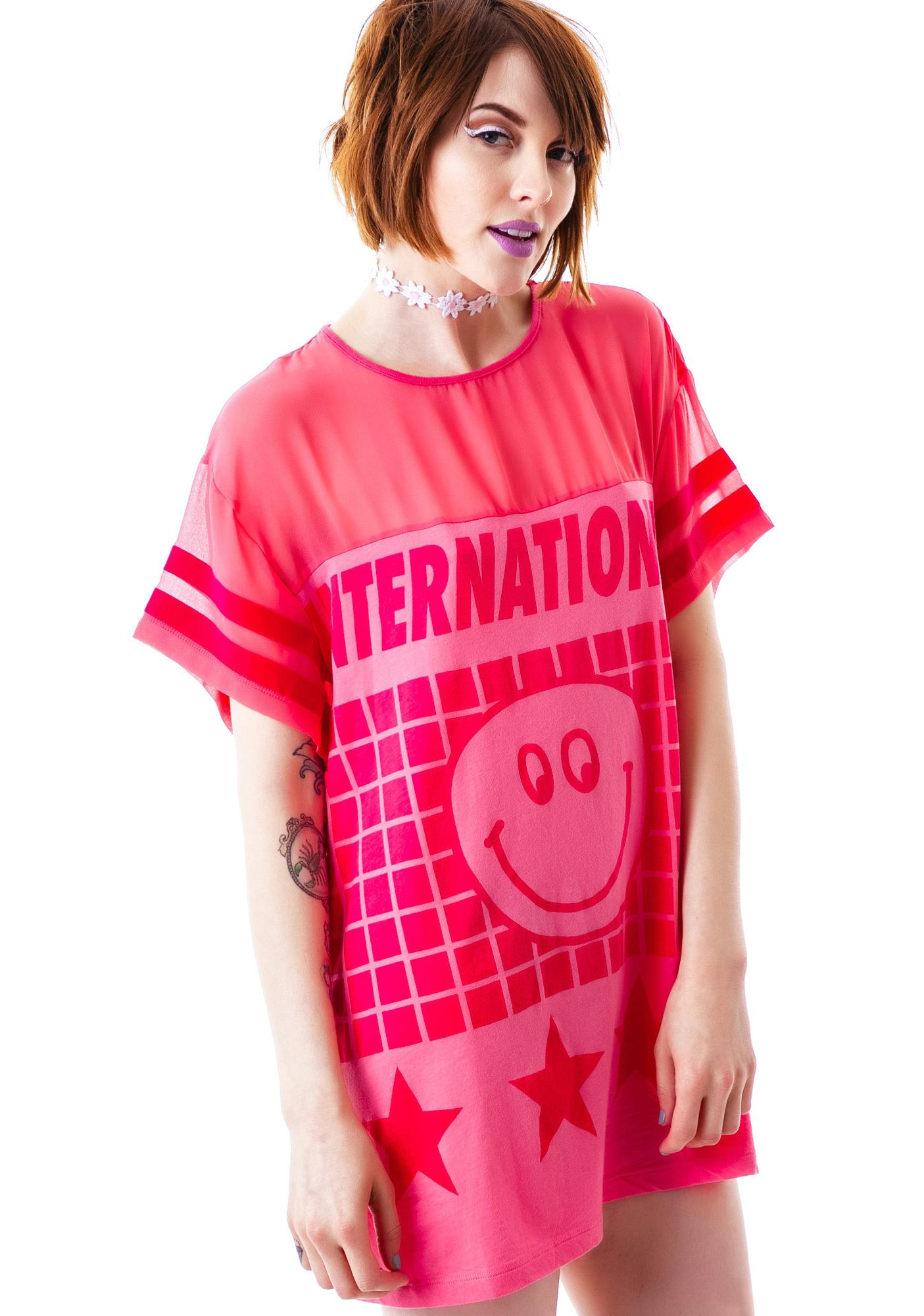 Lazy Oaf Internationale Slob T-Shirt
