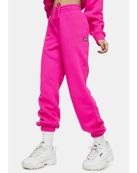 Pink Glow Lassie Joggers