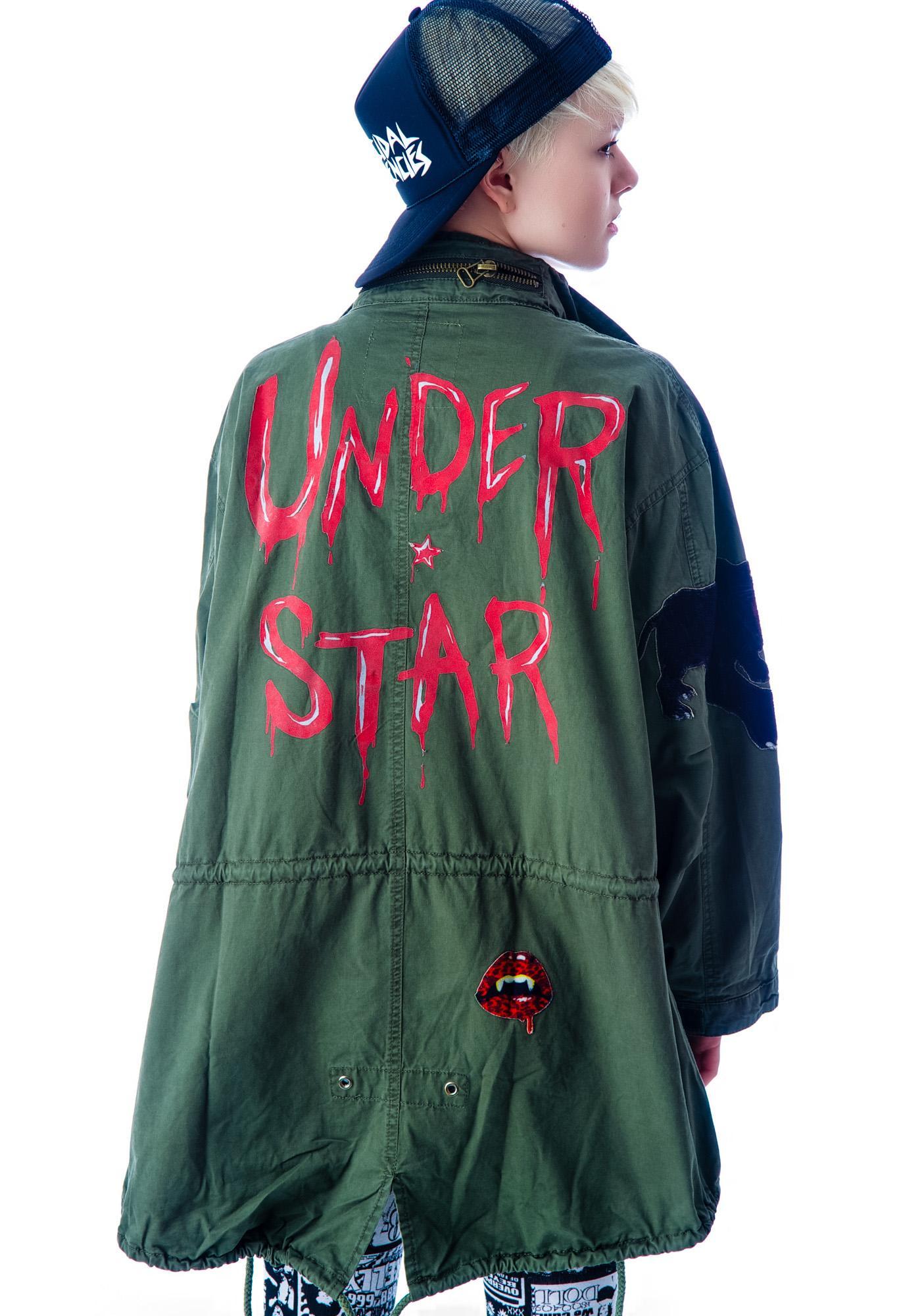 Skull Rocker Military Surplus Jacket