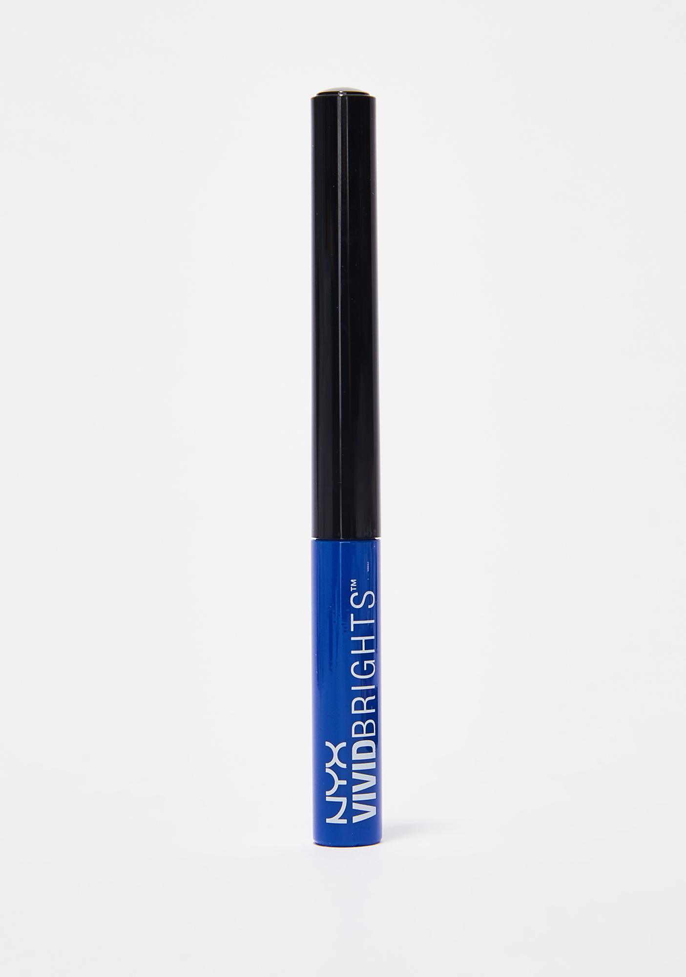NYX Vivid Sapphire Vivid Brights Eyeliner