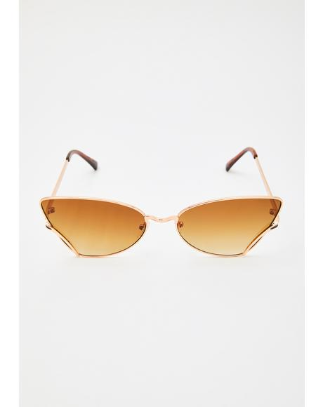 Blazin Belle Cat Eye Sunglasses