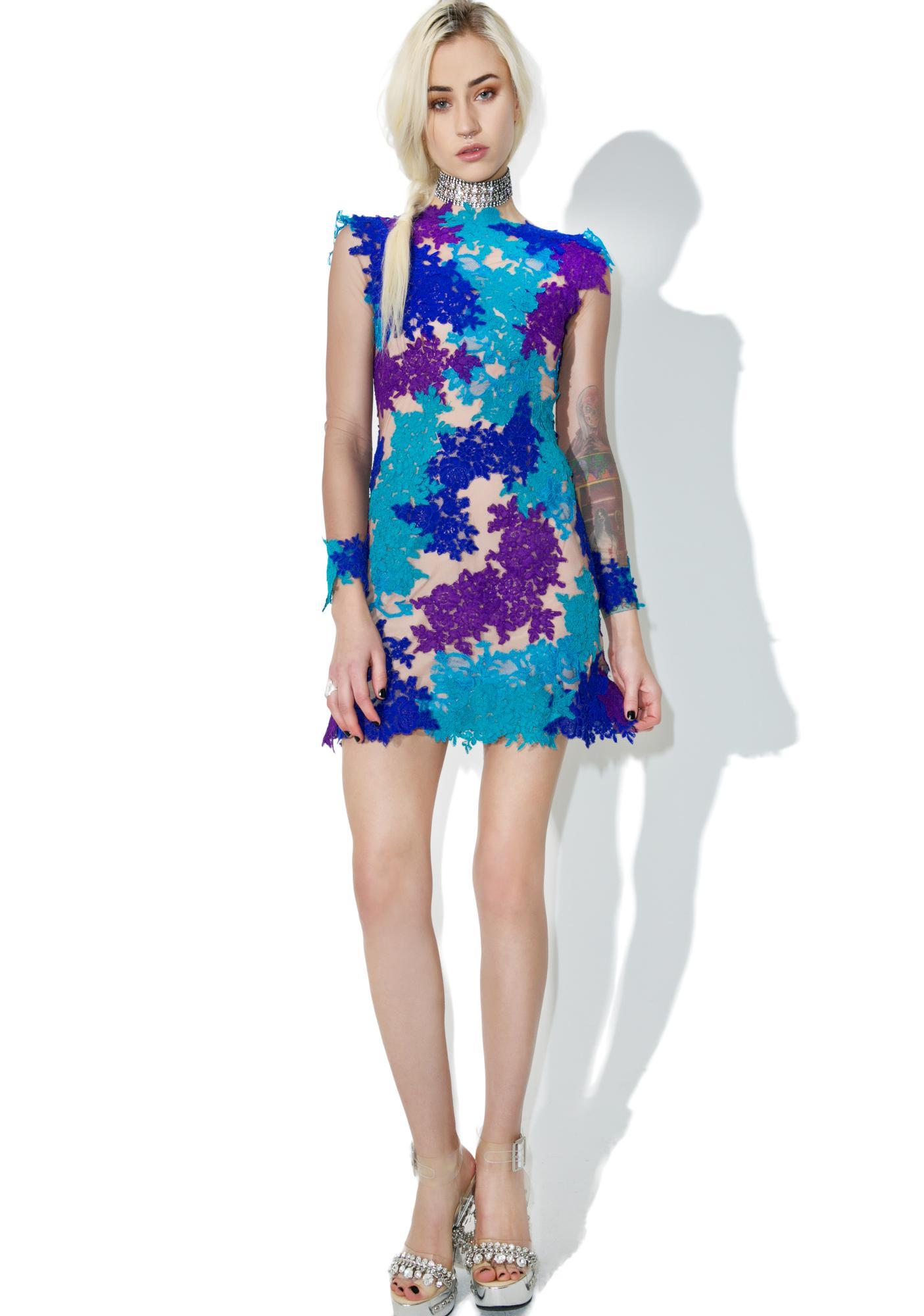 Novella Garden Lace Dress