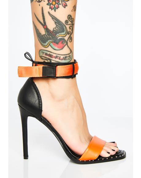 Vile Vixen Buckle Heels