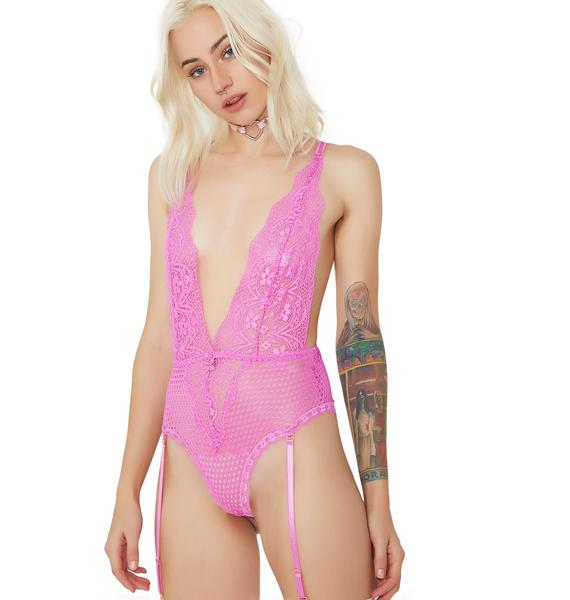 Forget Me Not Teddy Bodysuit