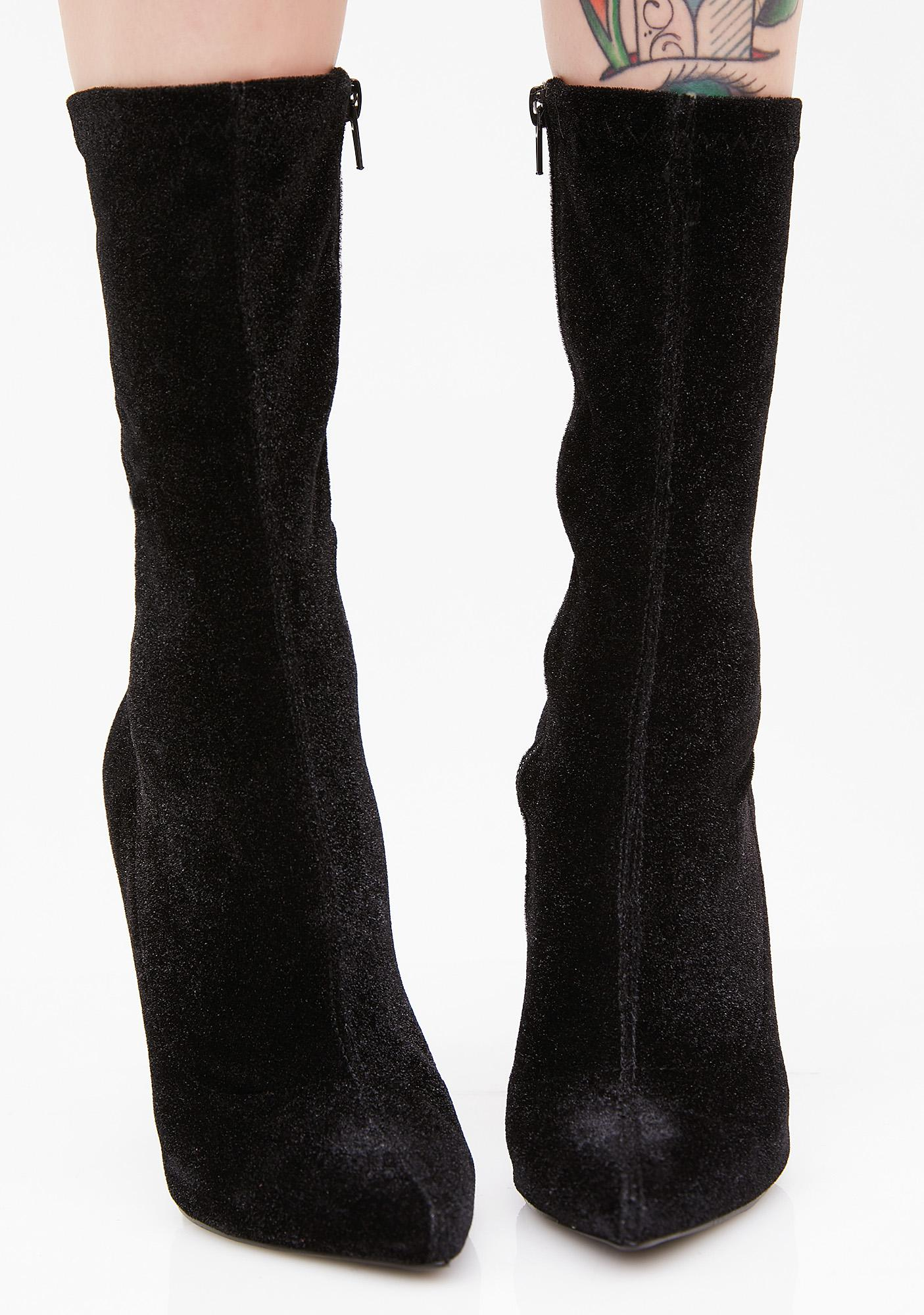 Darkwave Duchess Heeled Boots