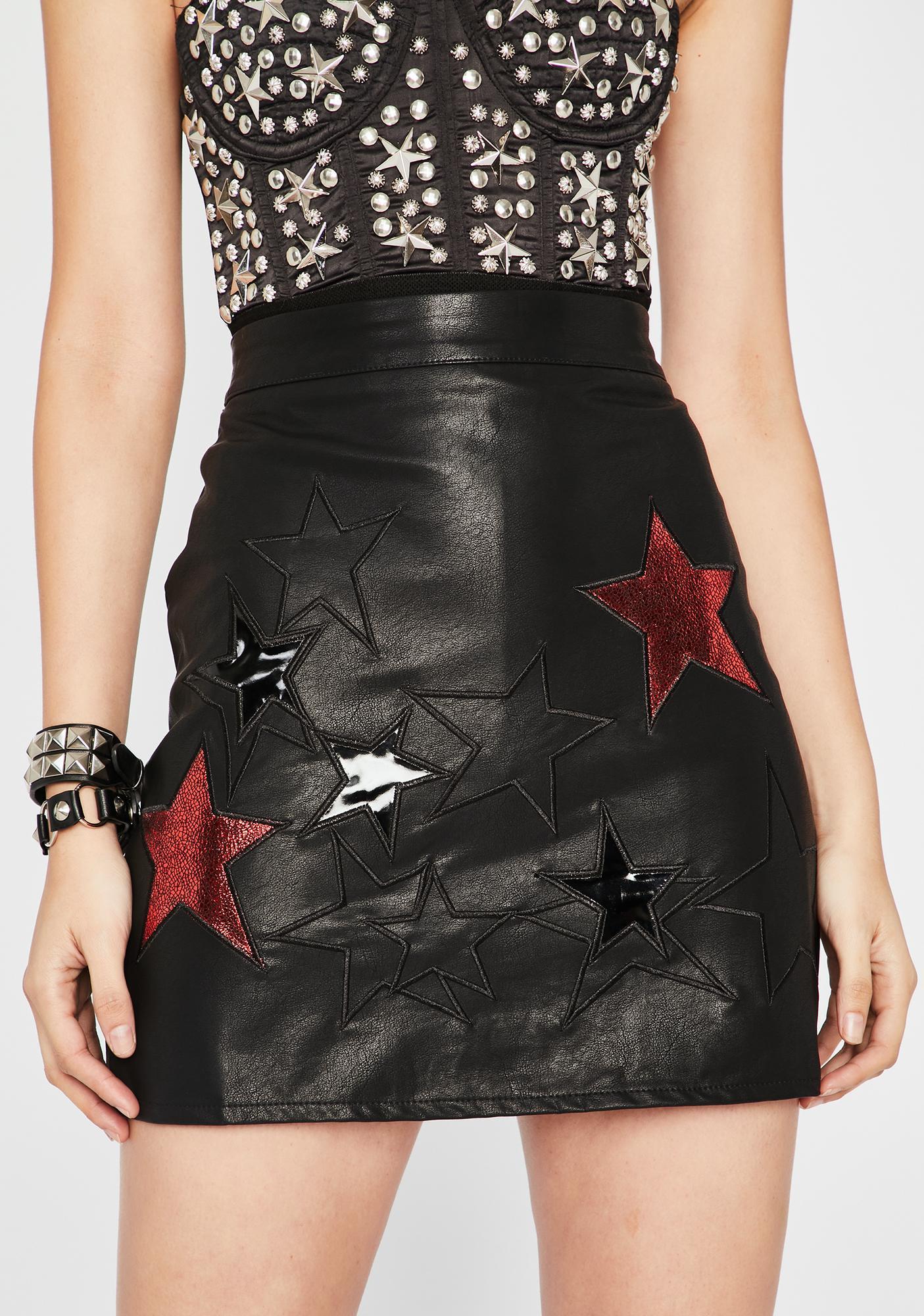 Cognac Desert Mini Skirt