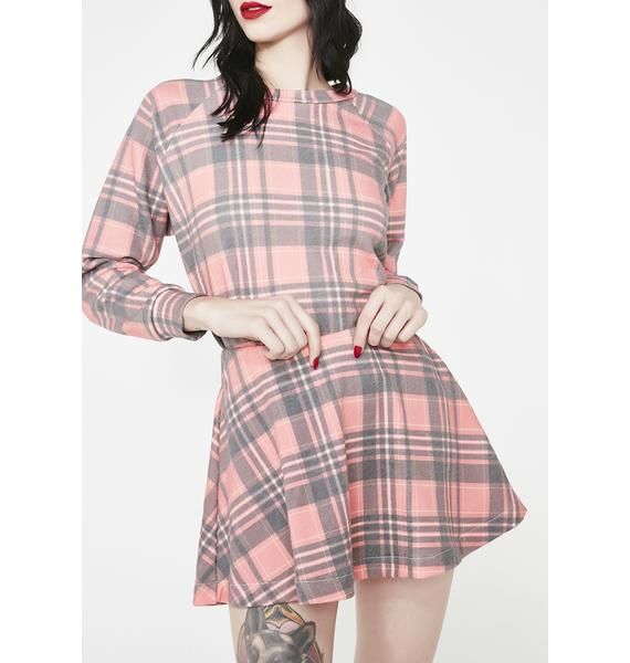 Wildfox Couture Sweetheart Plaid Villa Skirt