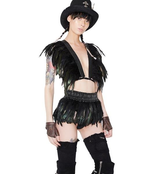 Bird Of Prey Feather Skirt