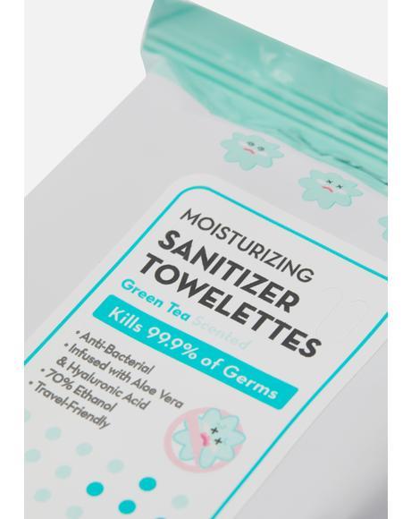 Moisturizing Sanitizer Towelettes