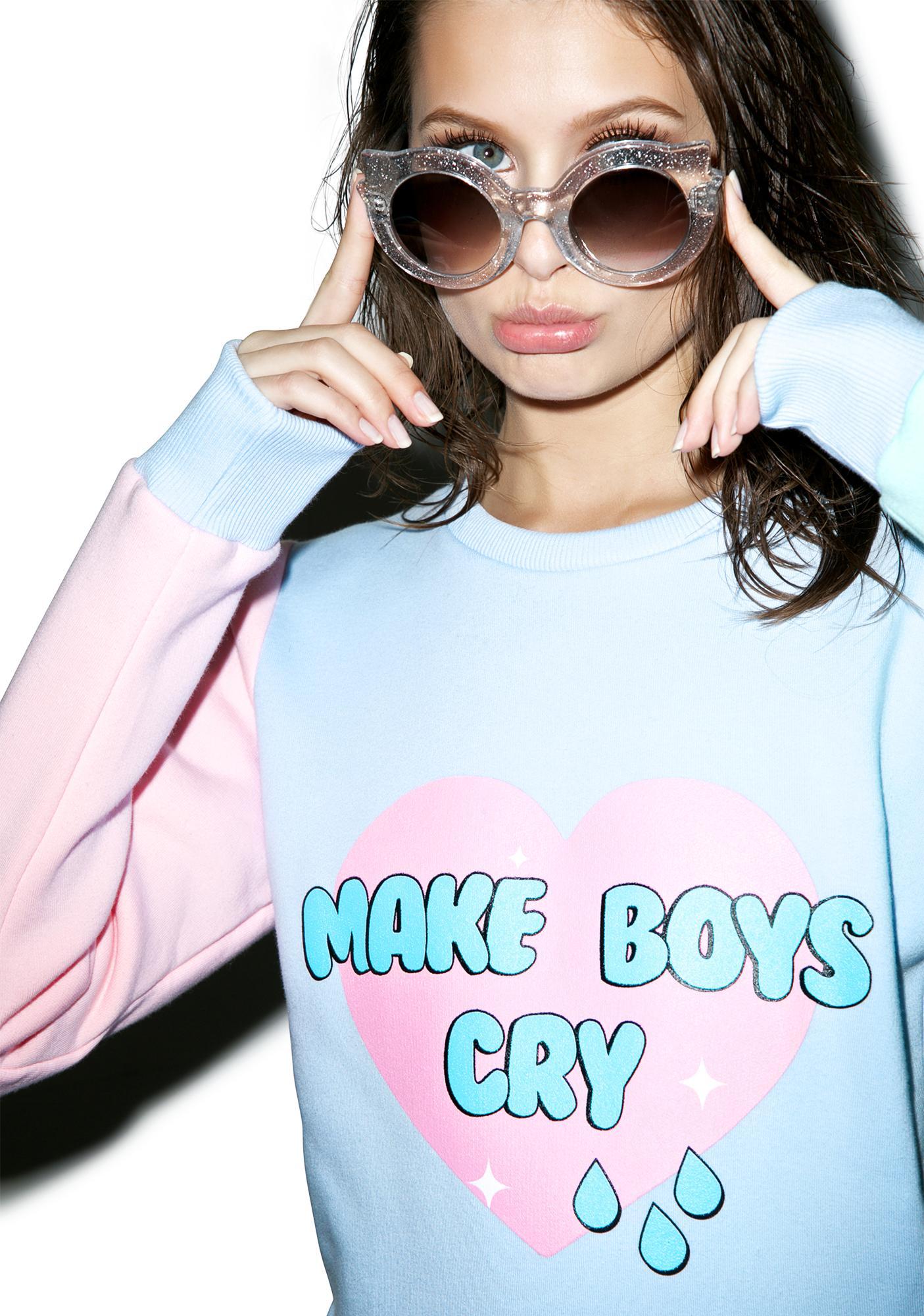 Sugarpills Make Boys Cry Sweatshirt