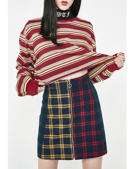 Check Panel Skirt