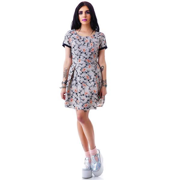 Midsummer Dream Floral Dress