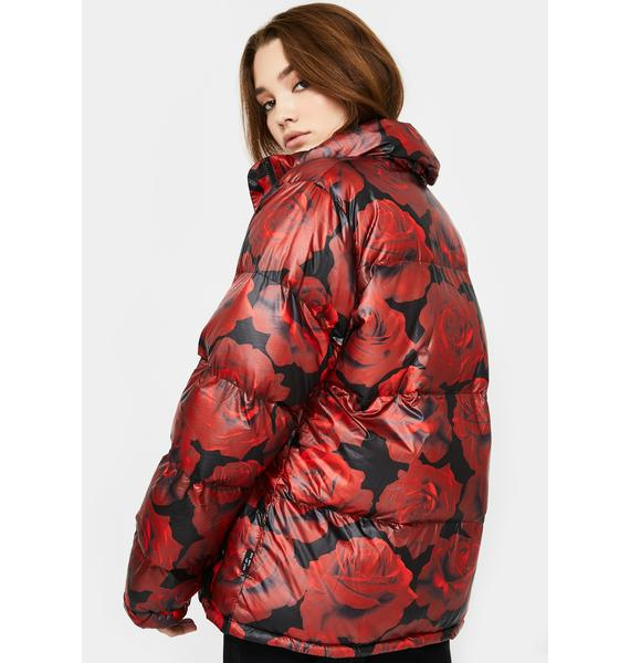 dELiA*s by Dolls Kill Somebudy To Luv Puffer Jacket