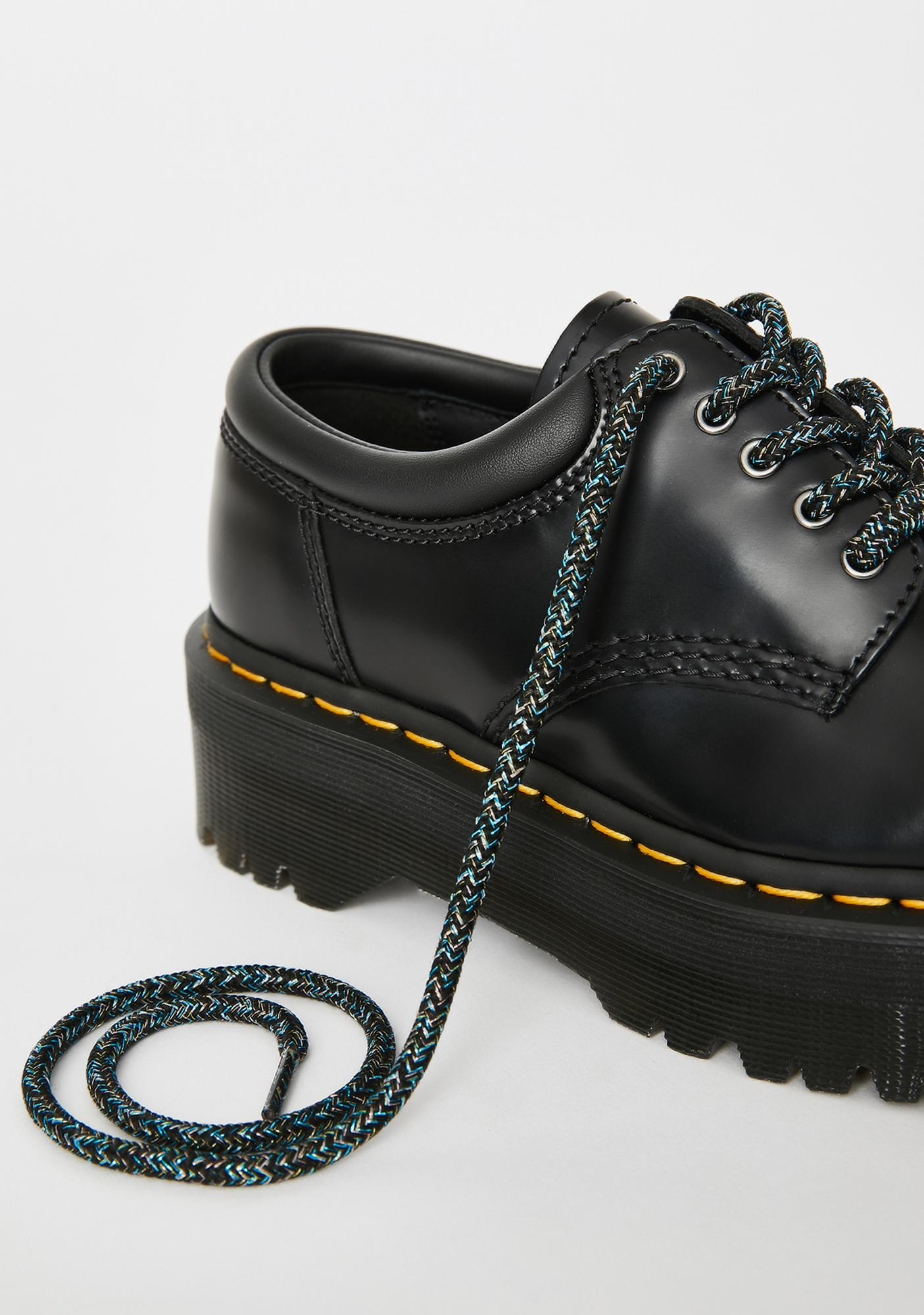 Dr. Martens Black Glitter Shoe Laces
