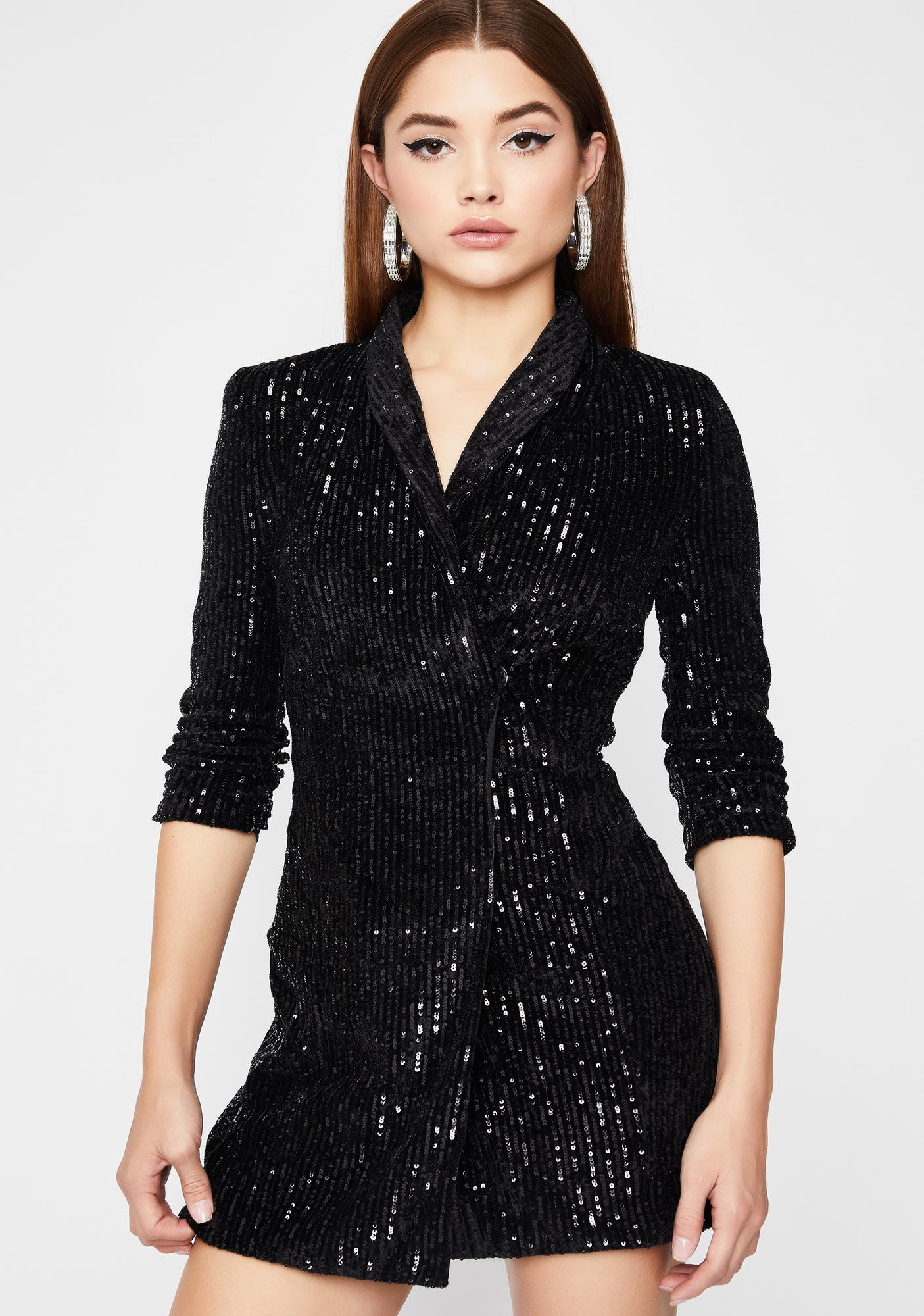 Clout CEO Sequin Dress