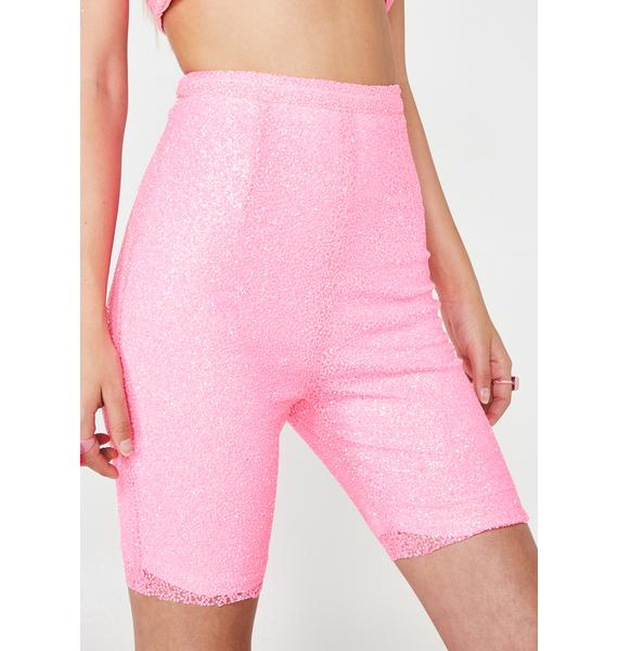 Elsie & Fred Pacific Palisades Glitter Cycling Shorts