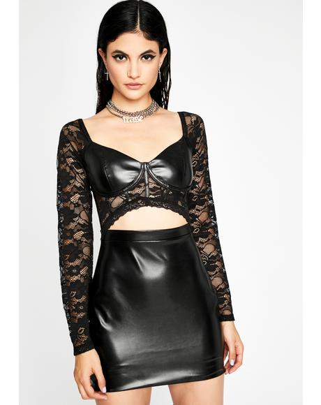 Want It Rough Mini Dress