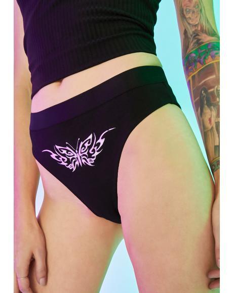 Fallen Femme Tattoo Panties