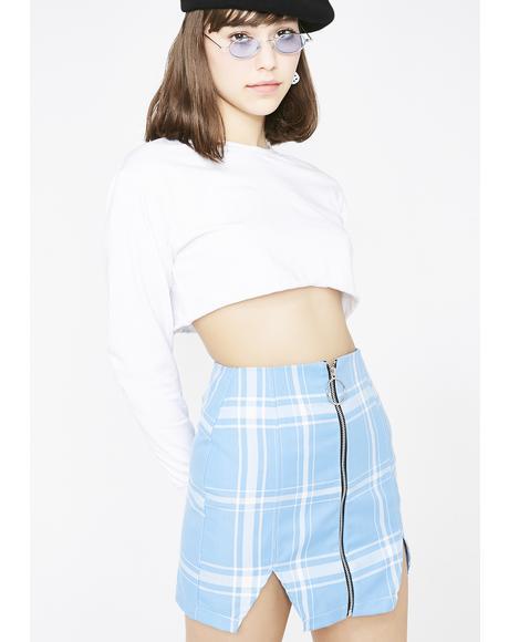 Blair Split Mini Skirt