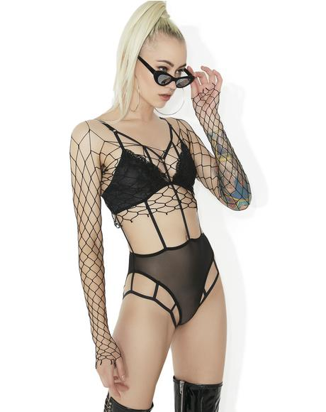 Caged In Strappy Bodysuit