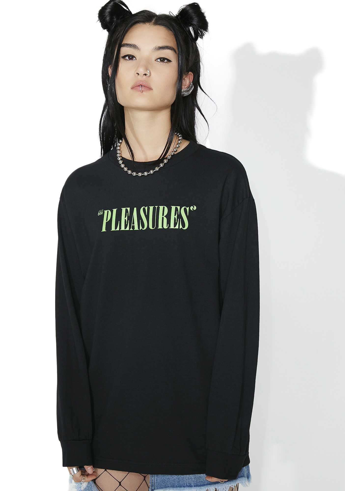 Pleasures Mark Of The Beast Long Sleeve Tee