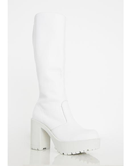 Icy Gusto Knee High Boots