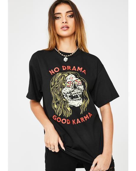 No Drama Graphic Tee
